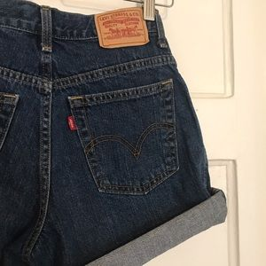 Levi's 550 Denim Relaxed Fit Jean Shorts